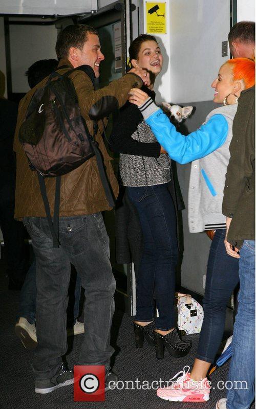 Scott Mills, Pixie Geldof with her little Dog...