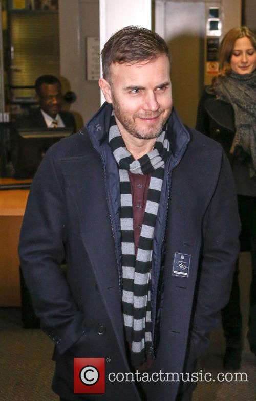 gary barlow at the bbc radio 1 20015377
