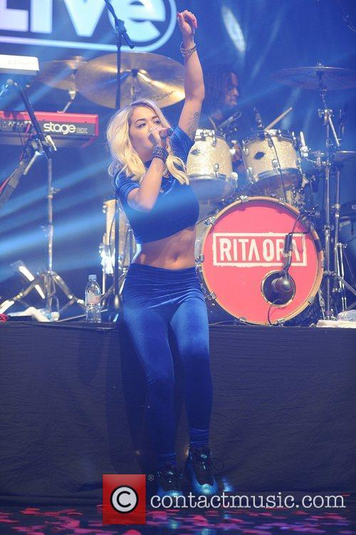 Rita Ora and Manchester Apollo 26