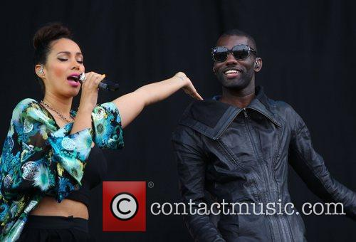 Leona Lewis and Wretch 32 2