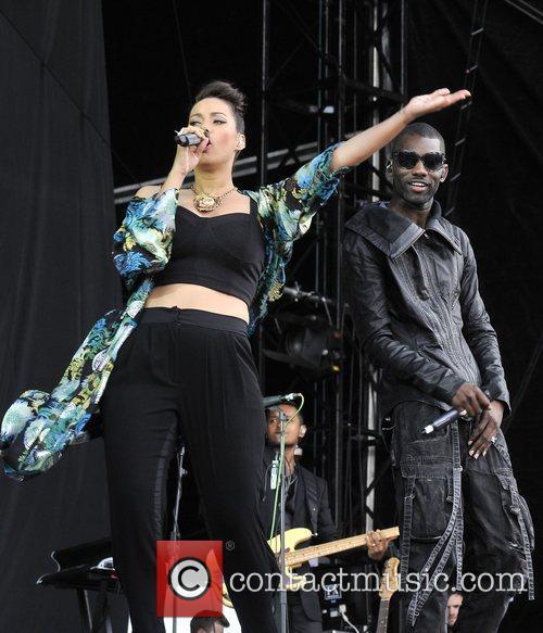 Leona Lewis and Wretch 32 14