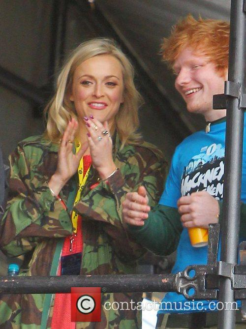 Fearne Cotton and Ed Sheeran 2