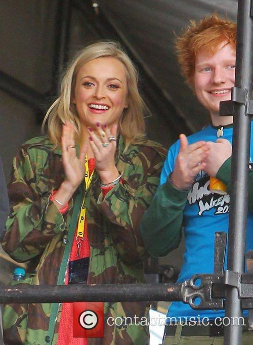Fearne Cotton and Ed Sheeran 3