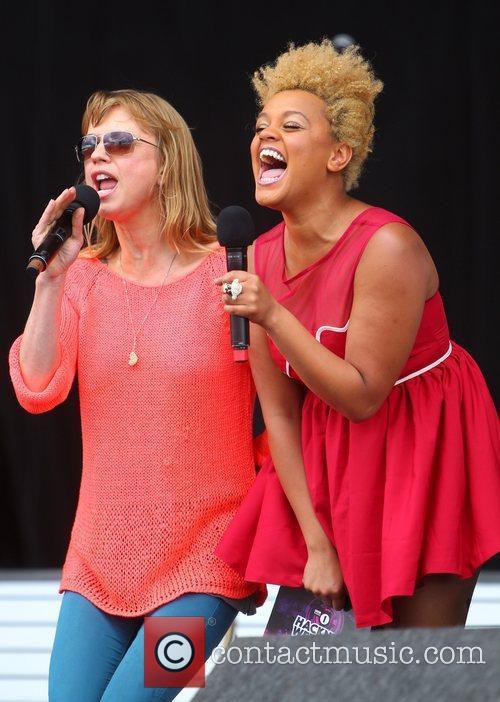 Sara Cox and Gemma Cairney BBC Radio 1's...