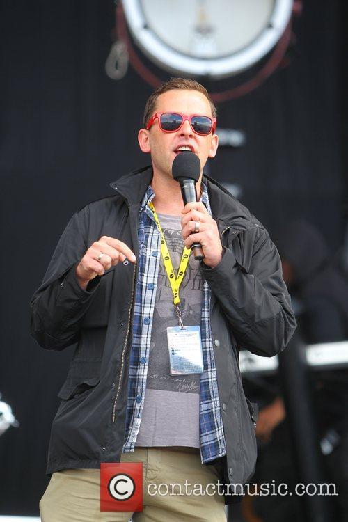 Scott Mills BBC Radio 1's Hackney Weekend held...