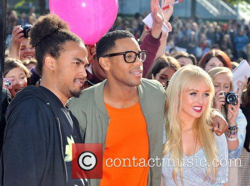Reggie Yates and Jorgie Porter 4