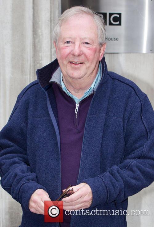 Celebrities outside the BBC Radio 2 studios