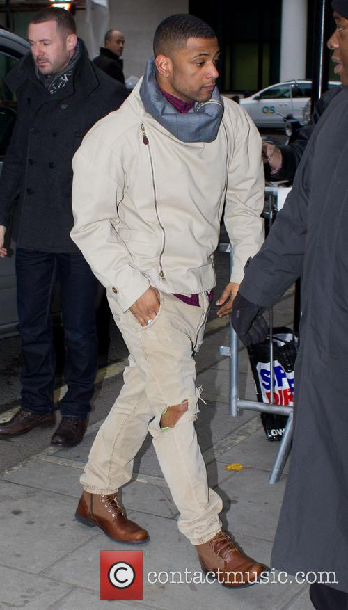 Jonathan Gill; JB Gill JLS arriving at the...