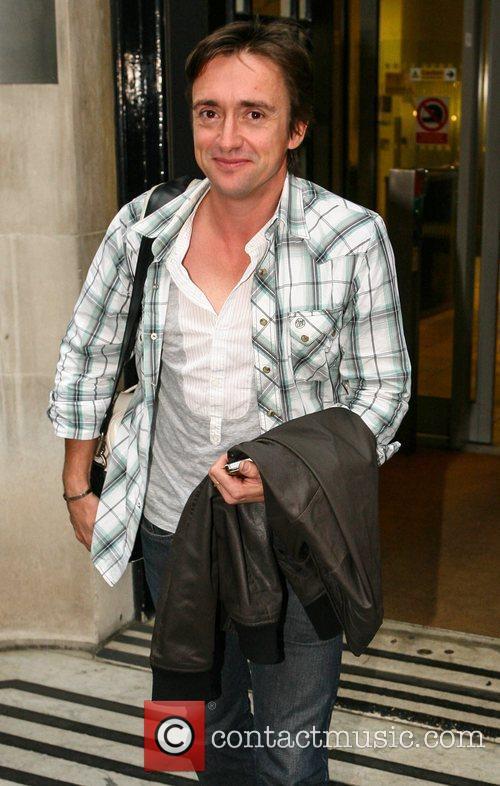 Richard Hammond leaves the BBC Radio 2 studios...