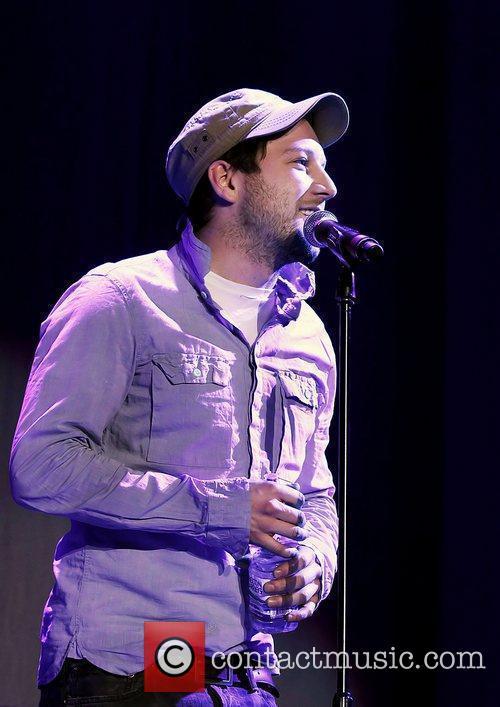 Matt Cardle  performing live during Radio City...