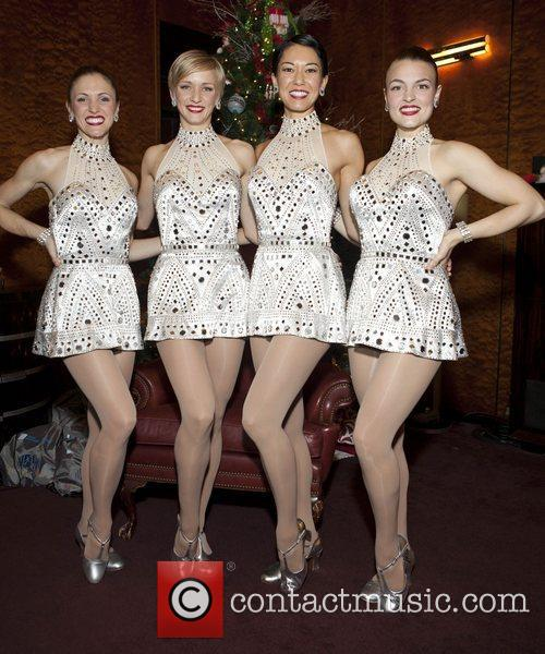 Alina Duncan, Mary Cavett, K, T. Wilson, Naomi Kakuk, Rockettes and Radio City Music Hall 2