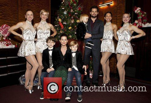 Alina Duncan, Mary Cavett, K, T. Wilson Naomi Kakuk, Rockettes, Kristoffer Poloaha, Julianne Polaha and Radio City Music Hall 1