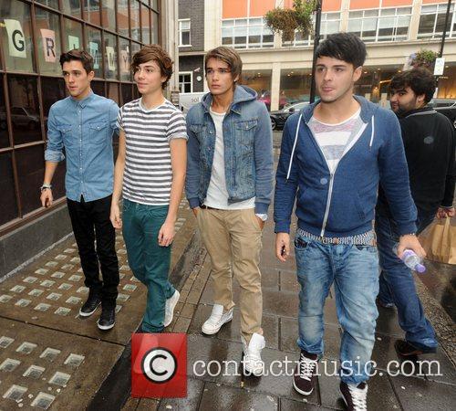 Jamie, Hamblett, George Shelley, Josh Cuthbert, Jaymi Hensley, Union J and The X Factor 3