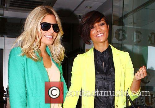 Mollie King, Frankie Sandford and The Saturdays 2