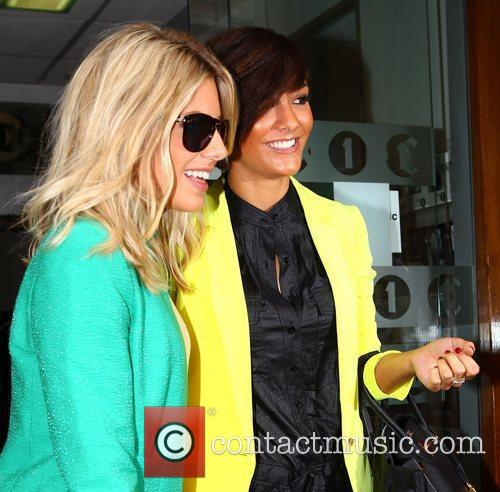 Mollie King, Frankie Sandford and The Saturdays 3