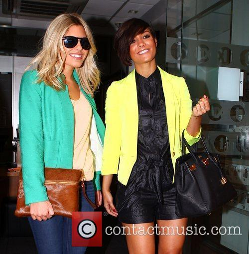 Mollie King, Frankie Sandford and The Saturdays 5