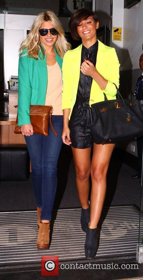 Mollie King, Frankie Sandford and The Saturdays 6