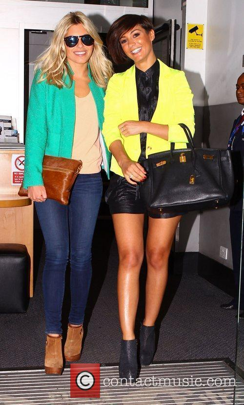 Mollie King, Frankie Sandford and The Saturdays 1
