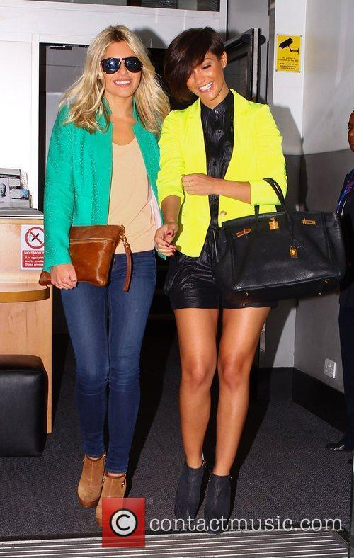 Mollie King, Frankie Sandford and The Saturdays 8