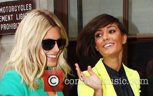 Mollie King, Frankie Sandford and The Saturdays 9