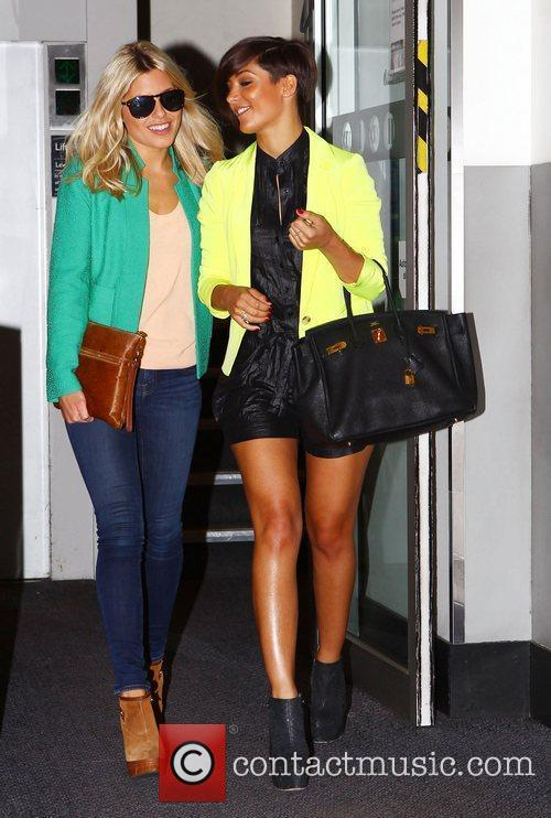Mollie King, Frankie Sandford and The Saturdays 10
