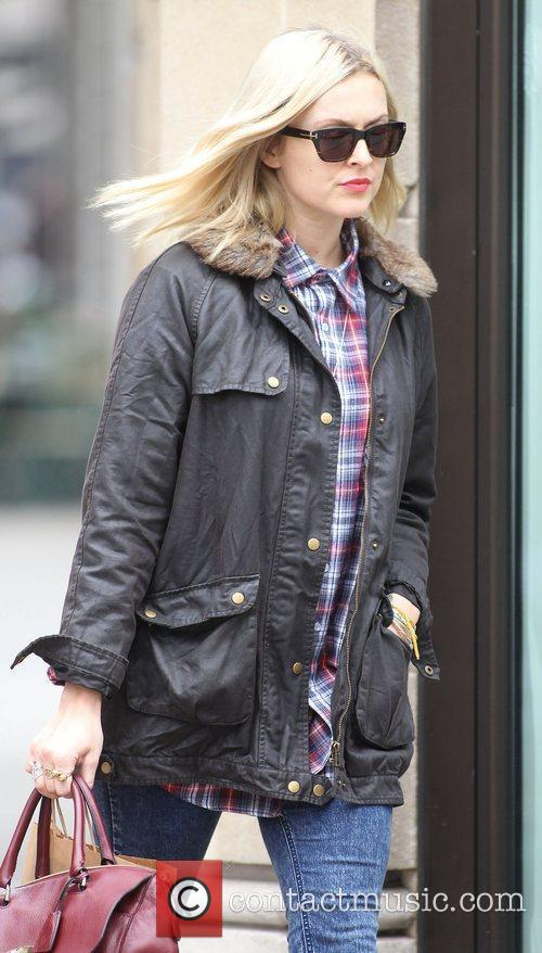 Fearne Cotton  arriving at the BBC Radio...