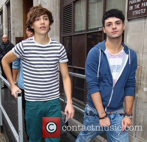 George Shelley, Jaymi Hensley and Union J 3