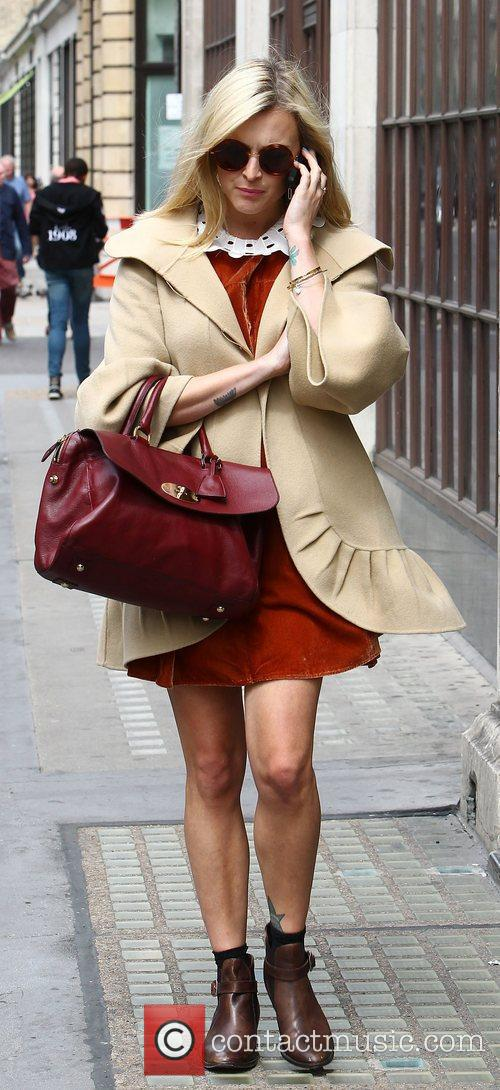 Fearne Cotton  leaves the BBC Radio 1...