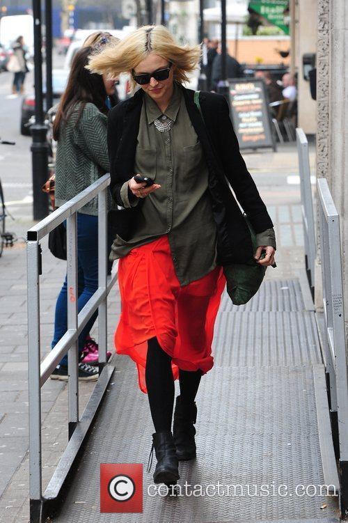 Fearne Cotton  leaving the BBC Radio 1...