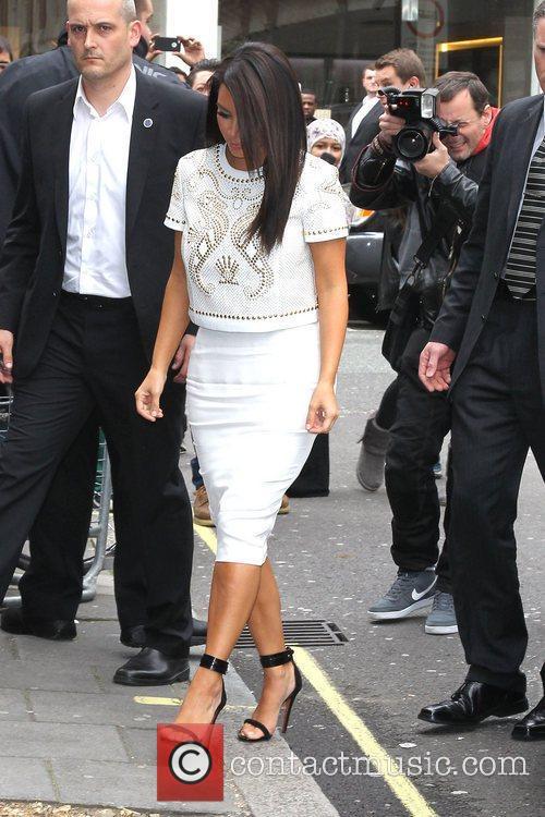 kim kardashian at the bbc radio 1 3886465
