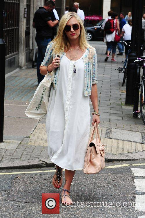 Fearne Cotton leaving Radio 1 London, England