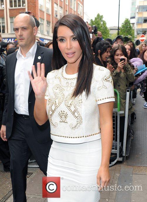 kim kardashian at the radio 1 studios 3886970