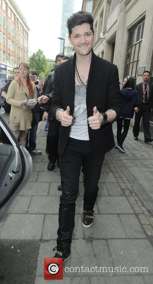 Danny O'Donoghue of The Script   leaving...
