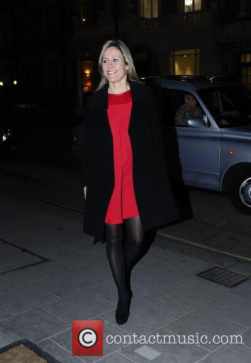 BBC News reader Sophie Raworth,  at the...