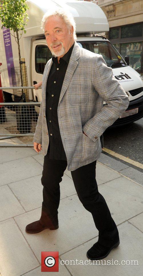 Arriving at the BBC Radio 2 studios