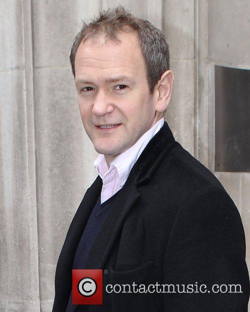 Alexander Armstrong outside BBC Radio 2 studios