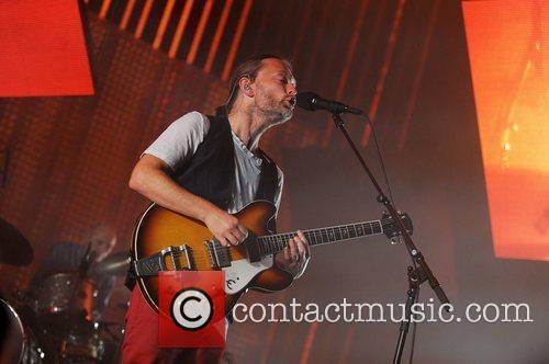 thom york of radiohead performing live at 3759736