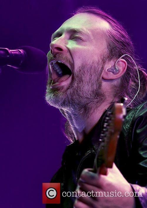Thom Yorke Manchester 2012