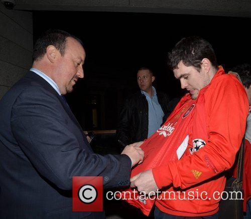 Rafa Benitez Rafa Benitez gives a talk on...