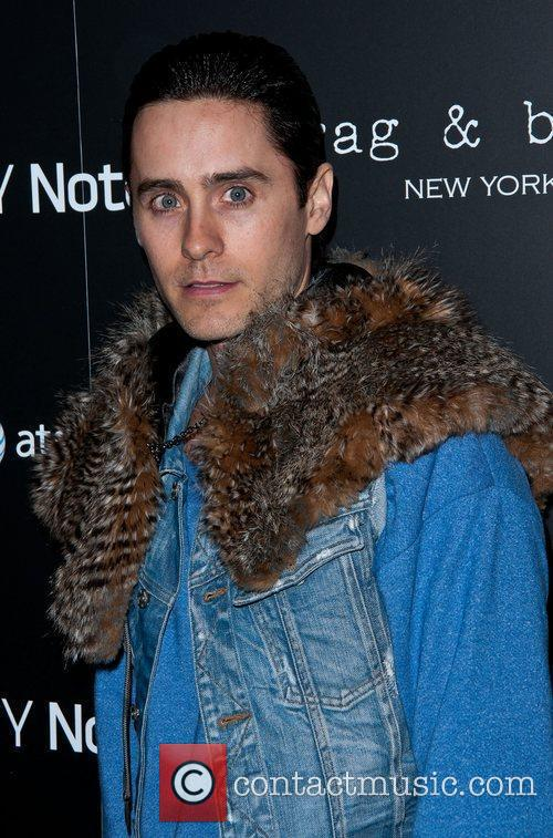 Jared Leto Samsung and AT&T, hosted by rag...