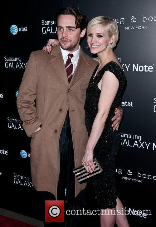 Vincent Piazza and Ashlee Simpson Samsung and AT&T,...