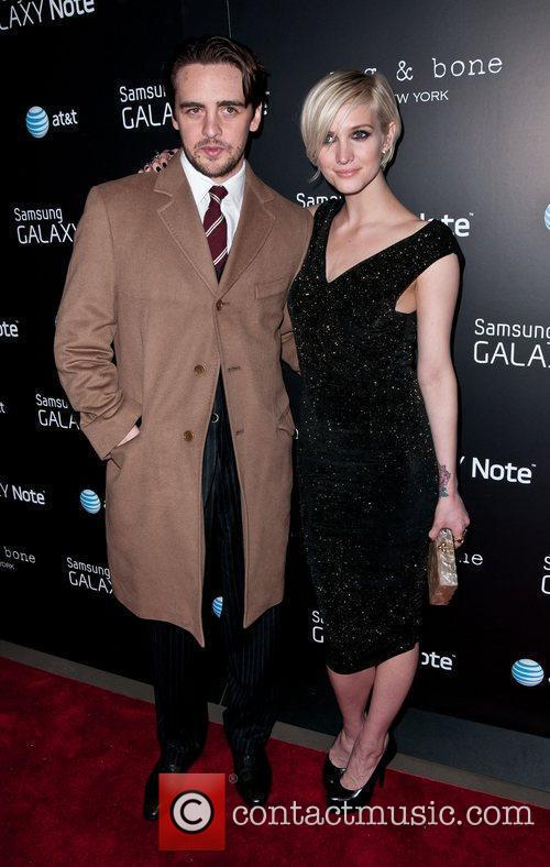 Vincent Piazza and Ashlee Simpson 3