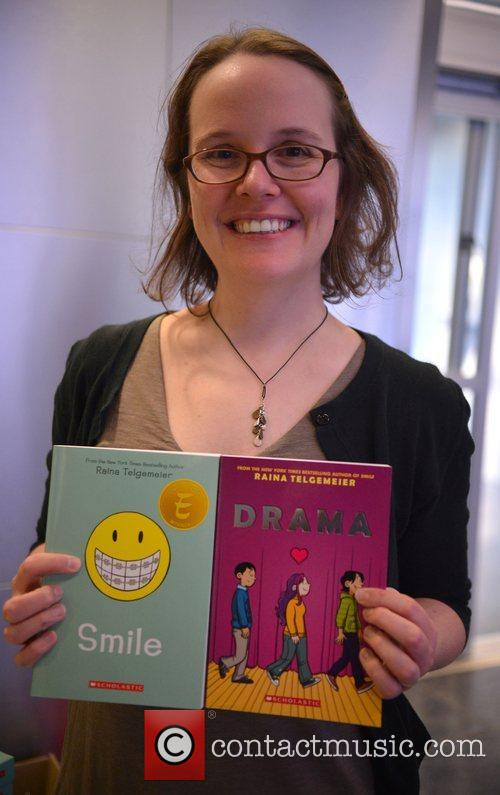 Raina Telgemeier attends the Miami Book Fair at...