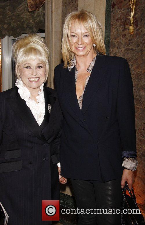 Barbara Windsor and Judy Cramer Broadway opening night...