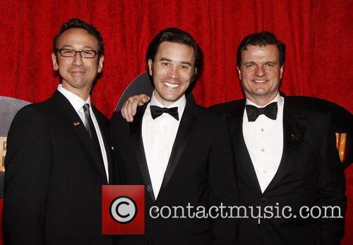 Jay Russell, Tom Pelphrey and Michael Cumpsty Broadway...