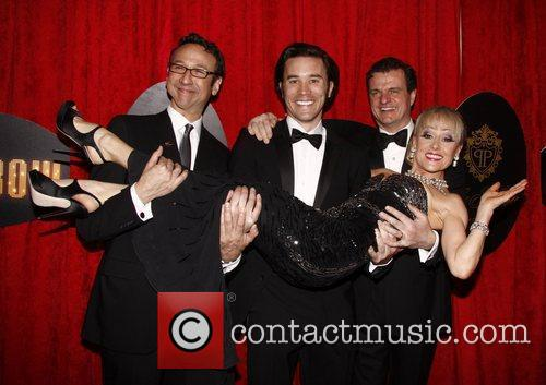 Jay Russell, Tom Pelphrey, Michael Cumpsty and Tracie...