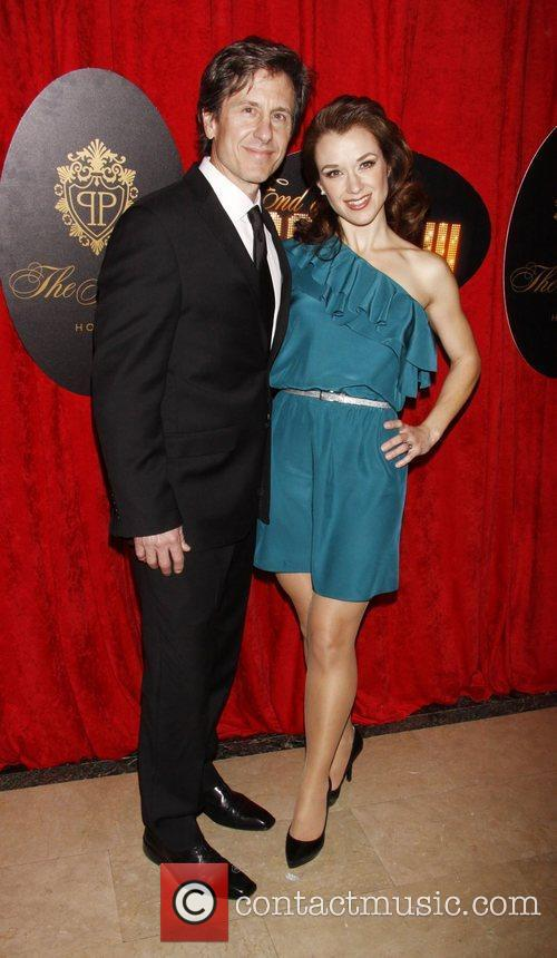 Michael Berry and Sarah Uriarte Berry Broadway opening...