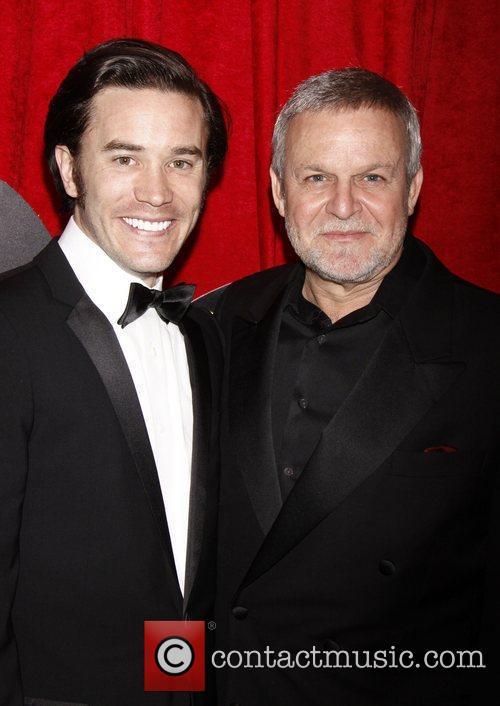 Tom Pelphrey and Ron Raines Broadway opening night...
