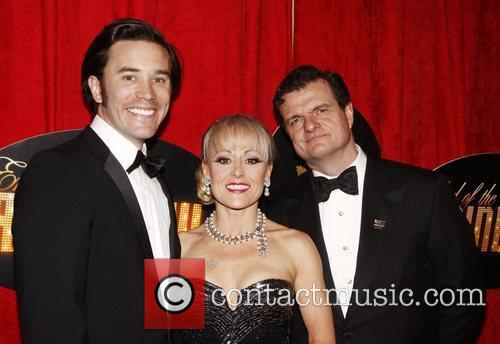 Tom Pelphrey, Tracie Bennett and Michael Cumpsty Broadway...