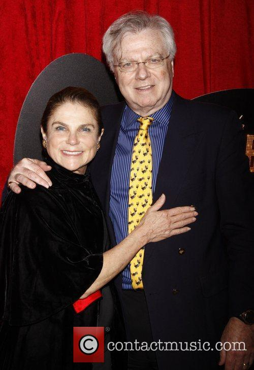 Tovah Feldshuh and Andrew Levy Broadway opening night...